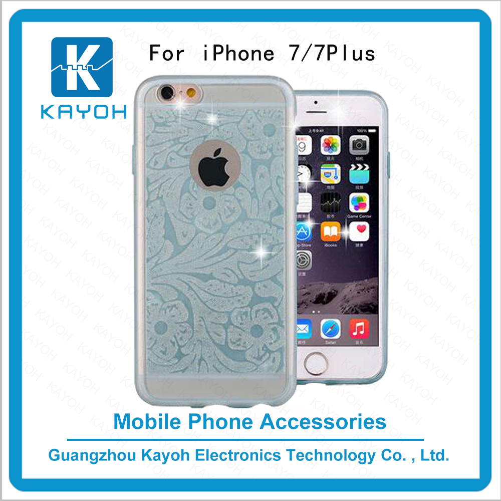 [kayoh]Custom design printing personalised phone cases covers for iphone 7 cute phone cases Plum flower pattern