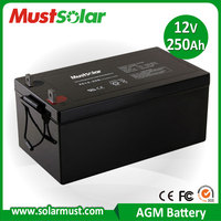 250Ah 12V Rechargeable Battery for UPS