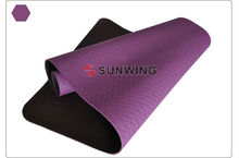 TPE PVC NBR yoga mat with cloth