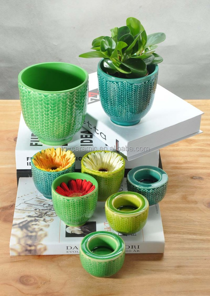 CHAOZHOU VEIO colorful ceramic hanging plant pot