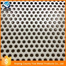low price round hole special decorate aluminium perforated metal mesh