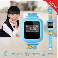 Manufacturer wholesale 2016 latest cheapest waterproof 3G mini MP3 kids gps watch phone