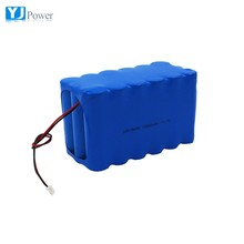 Deep cycle 12v li-ion battery pack with NCR18650d Lthium ion Cell 2600mah