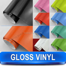 Glossy Bubble Free Self Adhesive Vinyl Wrap For Car Body