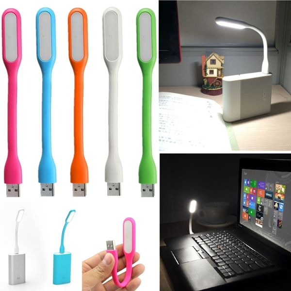 Portable Bright USB LED Light Lamp Flexible for Reading Notebook/Laptop PC