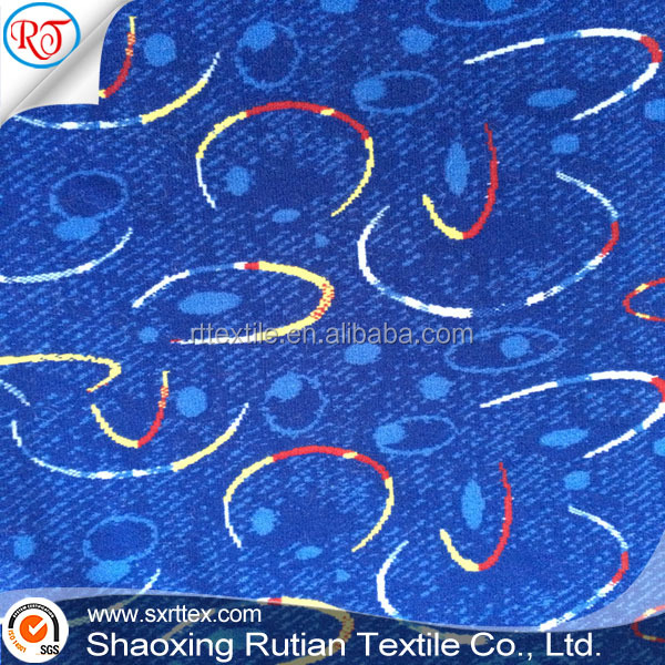Good Qulaity Jacquard Auto Fabric for upholstery bus seat