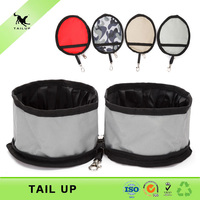 Wholesale waterproof travel collapsible dog bowl