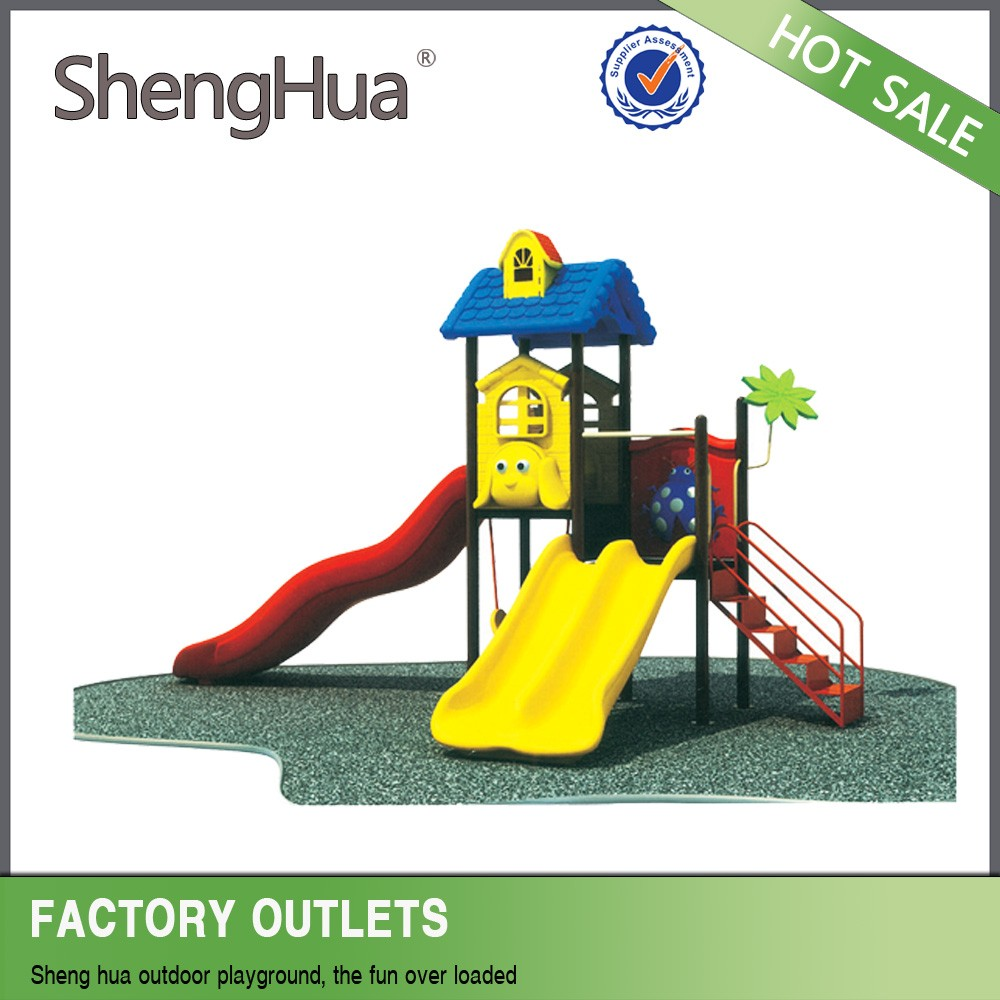 Attractive commercial playground equipment outdoor wood playset