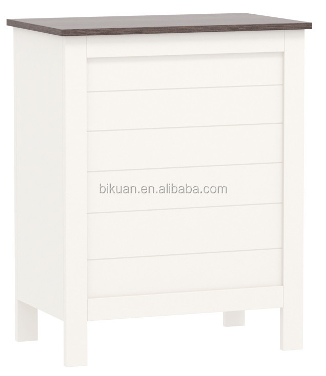Modern Wood Bathroom Furniture sets with mirror cabinet and undersink storage and space saver and hamper and cabinet