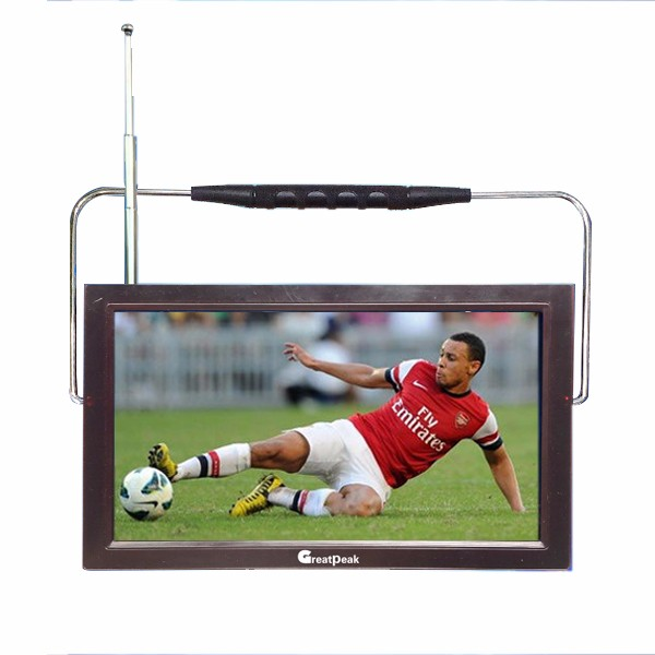 DVB-T2 Smart TV With HD Port LCD USB Digital Mini TV from Shenzhen Factory
