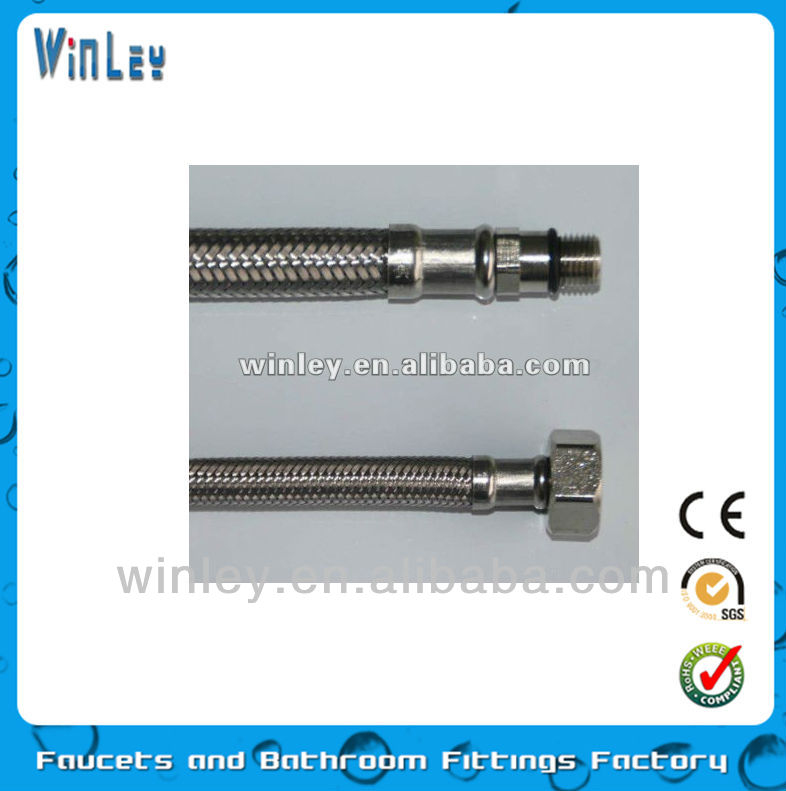 stainless steel braided faucet hose (FJ-11A-1B)