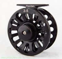 Top quality Die casting and low price large arbor fly fishing reel