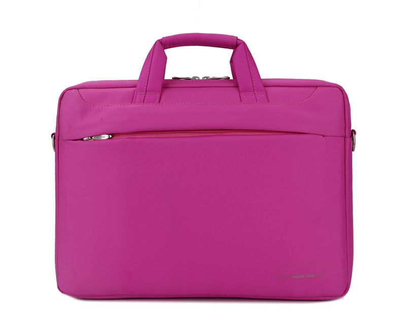 Color waterproof laptop bag for women polyester computer bag