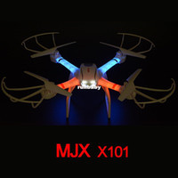 MJX X101 360 Flips One-key-return Kit 2.4GHz RC Headless Iphone Support RTF Camera Quadcopter FPV Drone