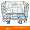 Aceally Metal pallet wire mesh cage for storage racking