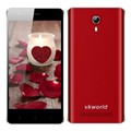 vkworld F1 China Android 5.1Dual Camera Smart Phone With1850mAh 1G+ 8G 2MP+5MP 4.5inch MTK6580 oem Phone