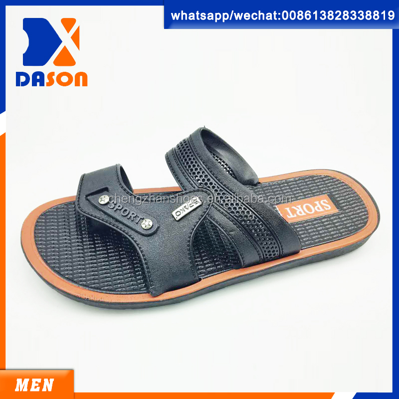 hot selling pvc men slippers china wholesale lates 2017