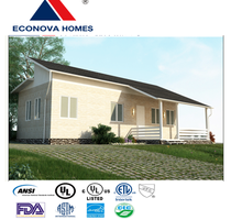 American standard modern module prefabricated home MM with solar power system