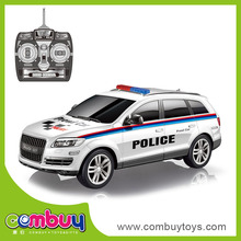 Top sale 1:12 scale model car remote control police car toy