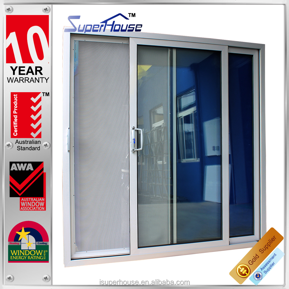 Australia standard double glazed insulated double sided for Insulated double doors