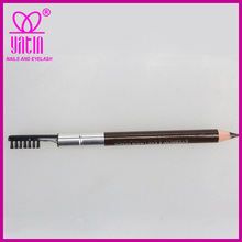 double head Waterproof Eyebrow Pencil with brushes,eyeliner pencil