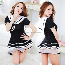 japanese maid adult costume sexy school girl costume QAWC-0150
