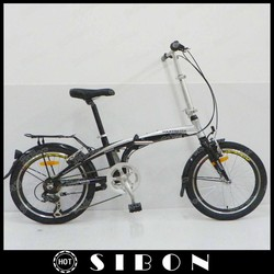 "SIBON 20"" full aluminium lightweight folding bike"