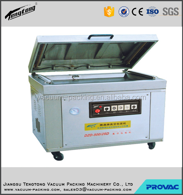frozen chicken wings table top sealing machine for meat automatic small vacuum packing machine with CE certificate