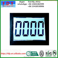 high quality flexible white lcd display for treadmill