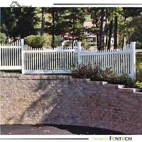 ASA standard cheap vinyl/wood picket fence styles