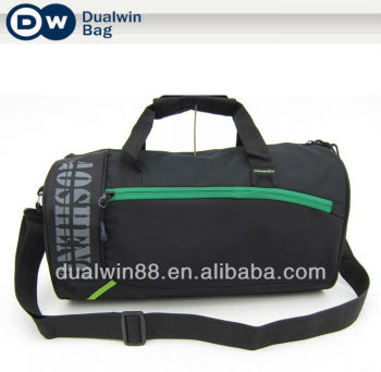 College nylon sport bag duffel gym bag travel bag