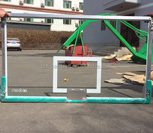 High Quality Hand setting anticorrosive tempered glass basketball board