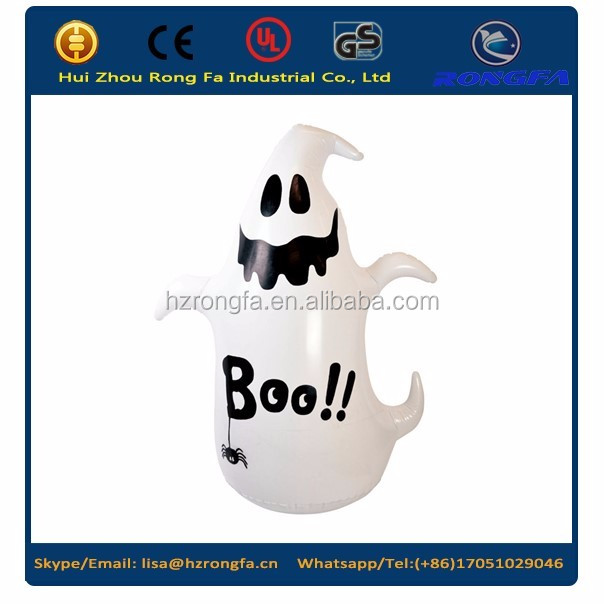 Halloween plastic inflatable toys/ghost inflatable toys for kids/Animal inflatable toys