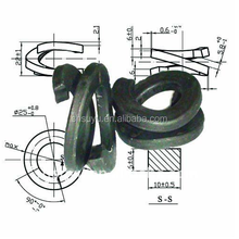 SUYU Railway fastener double coil spring washer