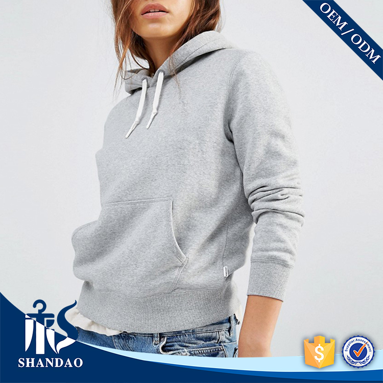 Guangzhou Shandao factory casual long sleeve 50%wool 50%cashmere womens winter different hoodies