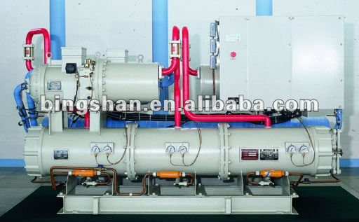 Water Cooled Reliable And Durable Brine Chiller