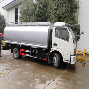 6 wheeler 5 ton capacity oil fuel tank truck for sale