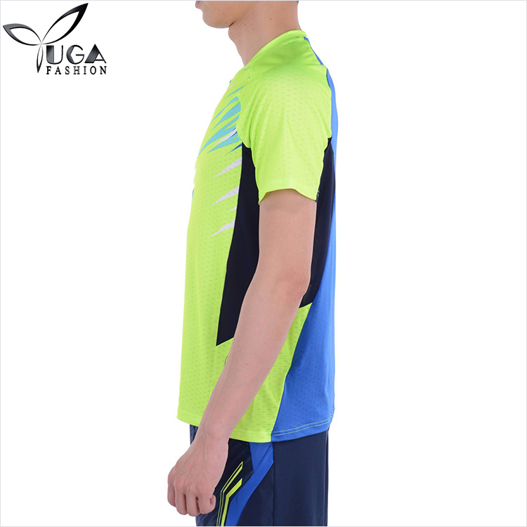 Bamboo Quick Dry Athletic All Sport Training Badminton T-Shirts Wholesale