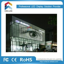 transparent led screen led moving message display sign outdoor glass window high brightness led screen display