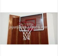 Plastic kids basketball backboard with mini hoop