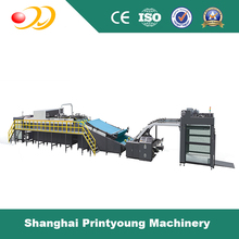 FMQF Series Fully Automatic High Speed Flute Laminating Machine