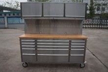 High quality stainless steel 72inch aluminum tool chest