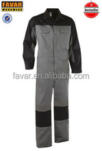 High quality comfortable CVC working coverall suit