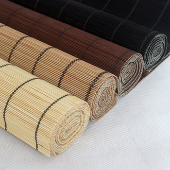 Easy Operation Bamboo Blinds Bamboo Curtain for Factory