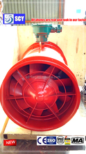 Low noise running stablity metallurgical blowers