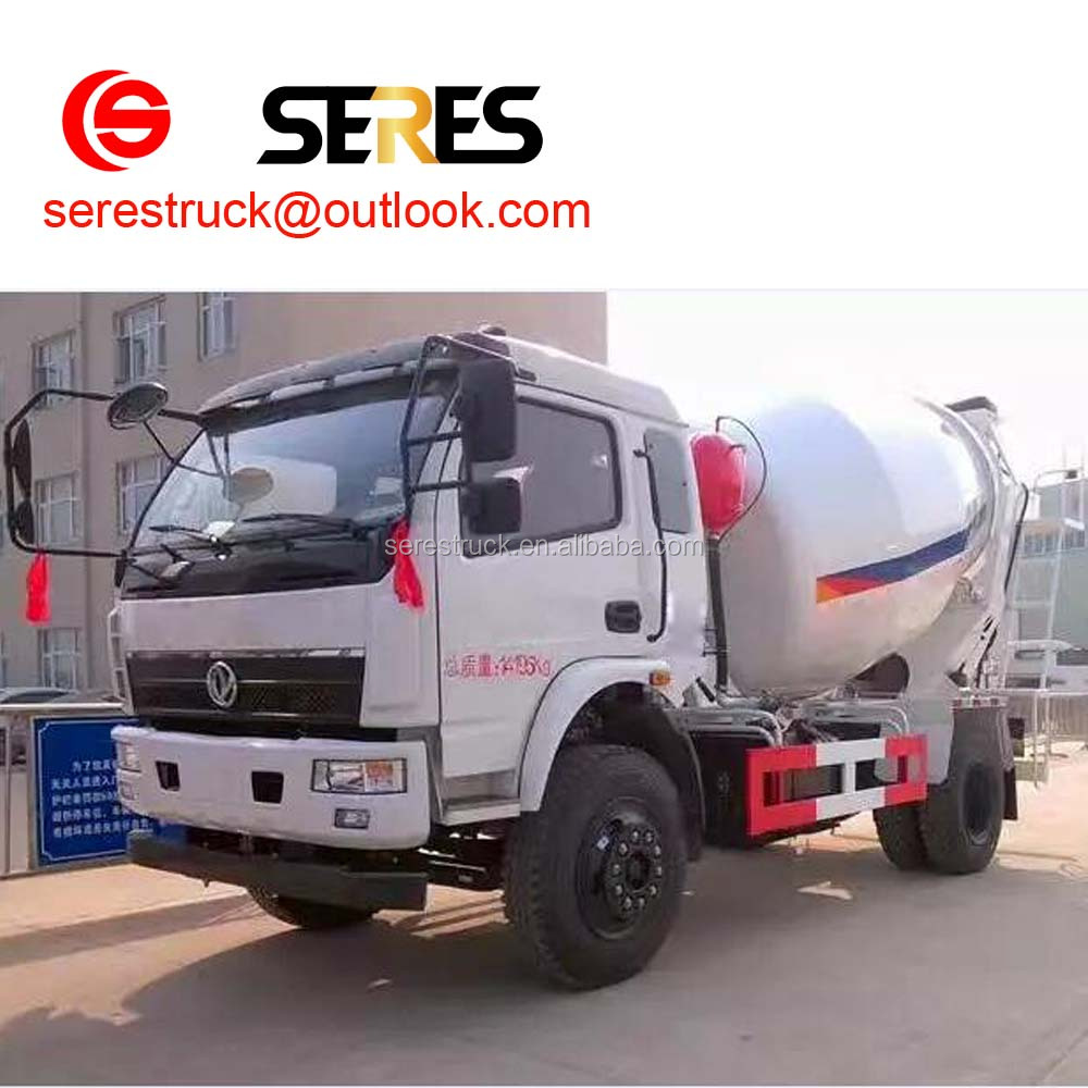 cement mixing truck for sale self loading concrete feeding mixer with truck in china factory