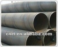 ASTM steel spiral pipe for oil pipeline transport system