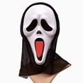 Hot selling various of PVC plastic ghost masks for halloween