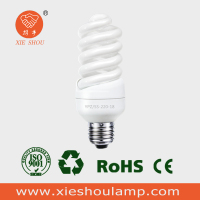 2016 Hot selling full spiral cfl E27 B22 energy saving lamp