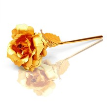 24k Gold Rose Wedding gift souvenirs for guests Gold Craft Art Wholesale Craft supplies
